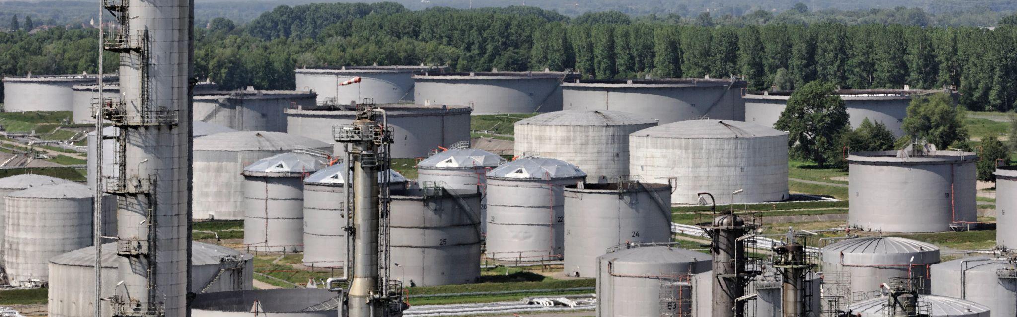 Daytime shot of the MiRo Refinery