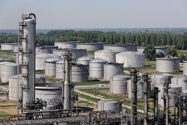 Daytime arial shot of MiRo Refinery